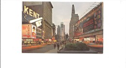 P4278 Times Square New York City  USA Front/back Image - Places & Squares