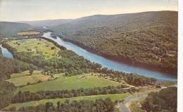 P4242 River Delaware Pocono Mountains Area Pennsylvania Ne  USA Front/back Image - Autres