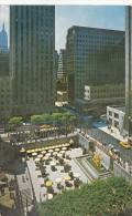P4227 Plaza Of Rockefeler Center  New York  USA Front/back Image - Places & Squares