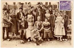 BOURG EN BRESSE - LES EBAUDIS, ANCIENS COSTUMES (1924) - Bourg-en-Bresse