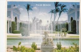 P4183 Palm Beach Fabulous Royal Poinciana Plaza Florida USA Front/back Image - Palm Beach