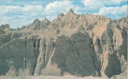 P4136 South Dakota Badlands National Monument USA  Front/back Image - Etats-Unis