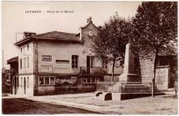Leyment - Place De La Mairie (pub Byrrh) - France