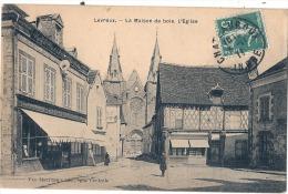 LEVROUX  La Maison De Bois L'église - TB - France