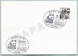 Carte Allemagne (Berlin) (21-11-80) - Panda Bären Au Parc Zoologique (JS) - Autres