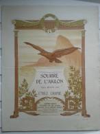 PUB - Offert Par La Crème SIMON,partition: SOURIRE DE L´AIGLON - Publicidad