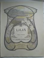 PUB - Offert Par La Crème SIMON,partition: LILA - Art Nouveau - Publicités