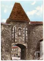 Montaigüet En Forez - La Porte Monumentale (pompe Essence Azur) - France