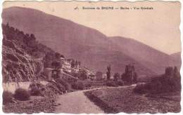 Environs De Digne - Barles - Vue Générale - France