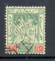MALAYA/KELANTAN, Postmark ´KUALA KRAI´ On 1930s Stamp - Kelantan
