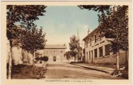 MONSEMPRON LIBOS - La Gare Et La Poste   (66653) - Autres Communes