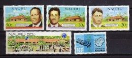 Nauru 5 Timbres Neufs - Nauru