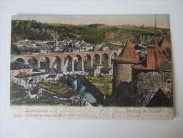 AK / Bildpostkarte 1902 Luxembourg Faubourg De Clausen. Editeur J. Fischer-Ferron. Gelaufen Nach Deutschland - Luxemburg - Stadt