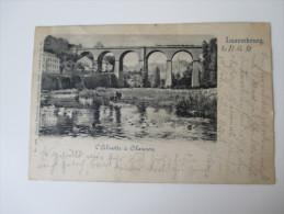 AK / Bildpostkarte 1898 Luxembourg L'Elzette A Clausen. Charles Bernhoeft No 44 Gelaufen Nach Deutschland - Luxemburgo - Ciudad