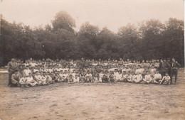 DIEZ A. LAHN / CARTE PHOTO GROUPE DE SOLDATS - Diez