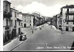 MOLISE-ISERNIA- AGNONE PIAZZA DELLA VITTORIA - Italia