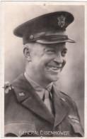 Carte Postale Ancienne Du Général Eisenhower - Characters