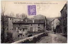 Saint-Félicien - La Route D'Annonay - France