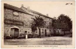 Devesset - Hôtel Boit-Suzat (pub Byrrh, Vins Des Costières) - France