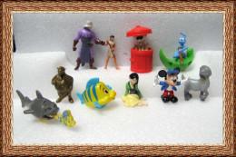 10 Figurines Magic Nestlé Disney + 6 Bandes - Disney