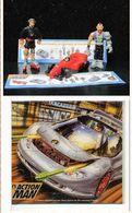 Surprises EGG ACTION MAN  :  2  Mini-Figurines + 1 Véhicule + 1 Puzzle  + 3 Bandes - Action Man