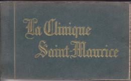 LYON CLINIQUE SAINT MAURICE  CARNET DE 25 CARTES - Lyon 7