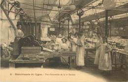 75 PARIS - BLANCHISSERIE DU CYGNE -  VUE D ENSEMBLE DE LA 2 Eme SECTION - 45 RUE BOULAINVILLIERS - Arrondissement: 16