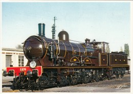 Musée Français Du Chemin De Fer De Mulhouse : Locomotive 2670 Nord - CPM Neuve - Equipment