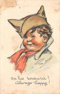 "Illustrateur  ""Germaine BOURET"" - On Les Reraura ! - Always Happy !  2e Choix - Bouret, Germaine"