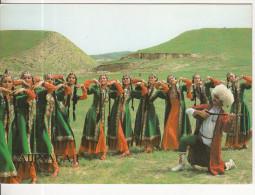 Ashkhabad, The State Folk Dance Company Of The Turkmen Republic, Dancers 64 - Turkmenistan