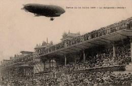 CPA Revue Du 14 Juillet 1907 - Le Dirigeable Patrie - Très Belle Animation - Dirigibili