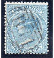"MAURICE : N°39 .OBL . B64 . "" SEYCHELLES "" .1863/70 - Maurice (...-1967)"