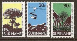 Surinam / Suriname 1972 Forest Management Timber Trees MNH - Milieubescherming & Klimaat