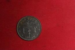 """Monnaie De Belgique/ """"Bon Pour 1 Franc"""" 1930 En TTB - 1934-1945: Leopoldo III"""