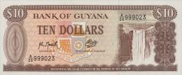 Guyana 10 Pesos 1992 Pick 23f UNC - Guyana