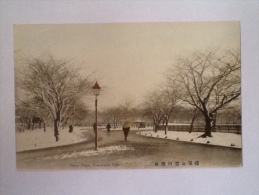SNOW SCENE YOKOHAMA TOKIO NON VIAGGIATA S - Yokohama