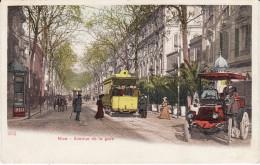 CPA - NICE (06) - Avenue De La Gare - Colorisée  - Neuve (état Lire Description) 2 Scans (lot 3-62) - Sonstige