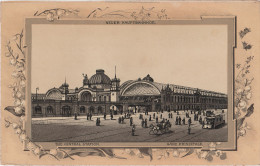 Stich Ansicht Dresden Neuer Hauptbahnhof Bahnhof Strassenbahn Ca. 21 X 13 Cm - Lithographien