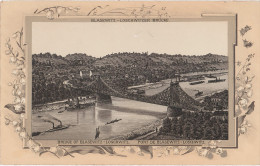 Stich Ansicht Dresden Blasewitz Loschwitzer Brücke Blaues Wunder Loschwitz Schillergarten Ca. 21 X 13 Cm - Lithographien