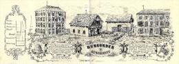 SUPERBE LETTRE DE VOITURE ROULAGE  A LA GARDE DE DIEU BURGUNDER REMIREMONT CIRCA 1860 V.DESCRIPT. SCANS+ HISTORIQUE - France