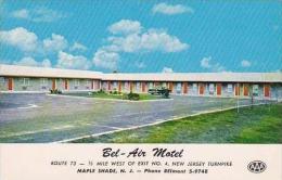 New Jersey Maple Shade Bel-Air Motel Curteich