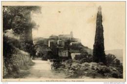 83-SOLLIES PONT-Vue Générale-voitures Années 40 - Sollies Pont