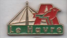 Beau Pin´s , Hypermarché Auchan , Le Havre , Pont De Normandie - Città