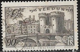 N° 445   FRANCE OBLITERES  - Victoire De Verdun 1939 - Francia