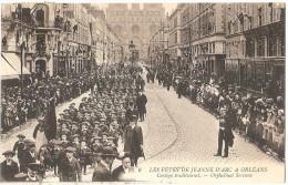 Dépt 45 - ORLÉANS  - Les Fêtes De Jeanne D'Arc à Orléans - Cortège Traditionnel - Orphelinat Serenne - Orleans