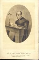 Devotie - Prentje Dom Placide Riccardi Abbaye De St Paul Rome - Santini