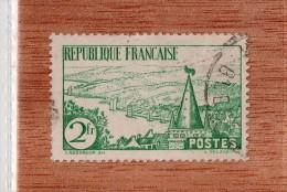 FRANCE  --  RIVIERE  BRETONNE  --  **  2 F. ** --  POSTE 1935  -- TBE - Oblitérés