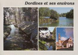 45 - DORDIVES Et Ses ENVIRONS - Lavoir, étang, Château, Ferrieres - Dordives