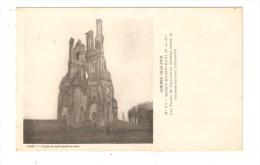 CPA :Militaria :62 -  Mont Saint Eloi : Tour Ancienne Abbaye Après Le Bombardement  Allemand - Vue Peu Commune - Guerre 1914-18