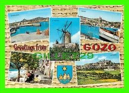 MALTE- MALTA - GOZO, 5 MULTIVUES - JOSEPH CALLEJA  - - Malte